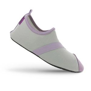 Fitkicks Classic Exercise Gray Shoes Small & Large